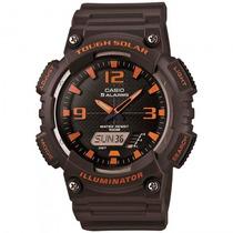 Relógio Casio Aq-s810w-8avdf Esportivo Solar - Refinado