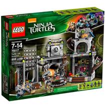 Lego Ninja Turtles Invasão Da Toca Das Tartarugas 79117