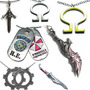 Colar Resident Evil God Of War Gear Devil May Cry - Unidade