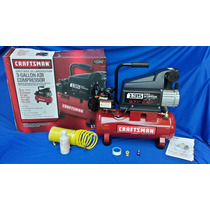 Compresora Craftsman 3 Galones 1.0 Hp Portatil No Dewalt