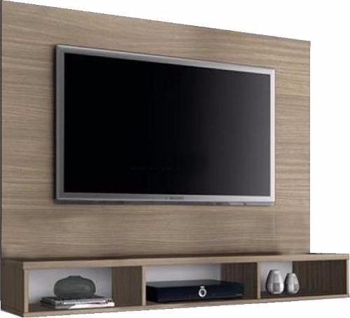 Panel Lcd/led Tv Rack Modular De Melamina O Mdf Living -  2.390 ...