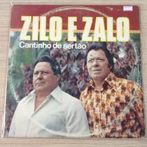 Lp Zilo E Zalo Cantinho Do Sertao (barato)