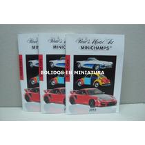 Catálogo Minichamps 2013 Novedades