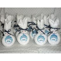 Souvenirs Nacimiento-miniconejos De Toallas-baby Shower-baut