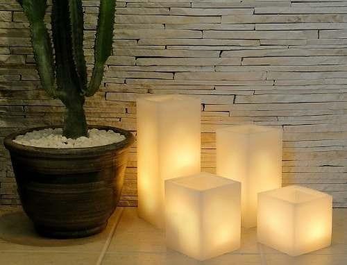 velas lumin rias de ch o jogo com 4 velas   r 300 00 em