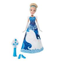 Boneca Saia De Fábula Mágica Da Cinderela Princesas Da Disne