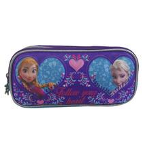 Lapicera Estuche Escolar Niña Frozen Ana Elsa Disney 101927