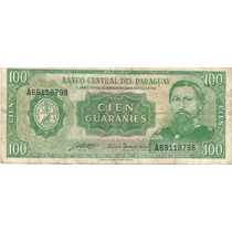 Cedula Paraguaia Cem Guaranis-