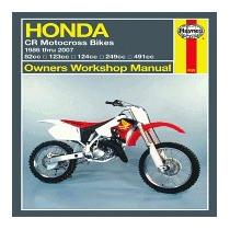 Libro Haynes Honda Cr Motocross Bikes Owners, Alan Ahlstrand