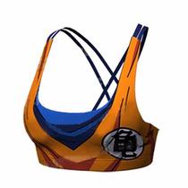 Playera Dragon Ball Gym Top Goku Mujer