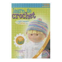 Libro Learn To Crochet: Baby Hat Kit, Inc Leisure Arts