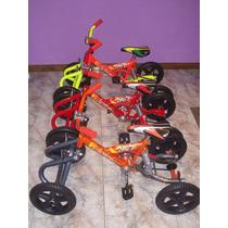 Cuatriciclo A Pedal Ruedas De Goma Antivuelco Suspension!!!!