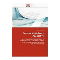 Libro Commande Robuste Adaptative, Saber Maraoui