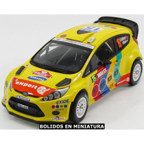 Ford Fiesta Rs Wrc - Waler Rally Gb - Minichamps 1/18