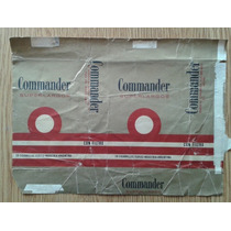 Marquilla Commander Decada Del 60 P/ Coleccion