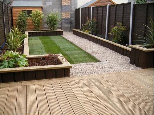 Instalaci n deking terrazas en mercado libre - Instalacion electrica jardin ...