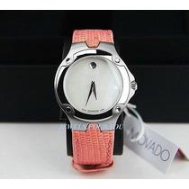 Relógio Movado Sport Edition Fem Madre Perola/safira/cores