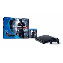 Ps4 Playstation 4 500gb Slim Uncharted 4 Nuevo Garantia
