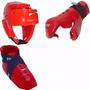 Combo Set Junior Sparring Cabezal + Guante + Zapato Marcial