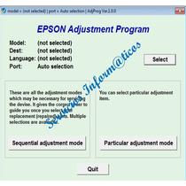 Reset Para Impresoras Epson L110, L210, L300, L350, L355