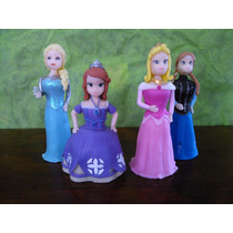 Princesas Y Hadas Disney Adornos Para Torta Porcelana Fria