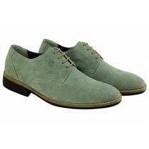 Sapato Masculino Sandro Moscolon Grey Suede - Camurça