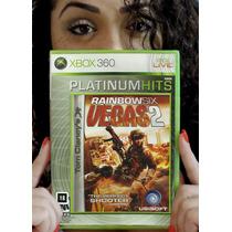 Rainbow Six: Vegas 2 - Xbox 360 Lacrado. Pronta Entrega.