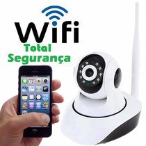 Camera Ip 1.3 Mp Wifi Hd 720p Visão Noturna -segurança 24hs