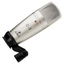 Microfone Behringer C3 Condensador, Atacado Musical