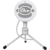 Microfone Blue Snowball Ice Branco