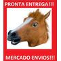 Mascara De Cavalo Cabe&ccedil;a De Cavalo Fantasia Cosplay<br><strong class='ch-price reputation-tooltip-price'>R$ 75<sup>00</sup></strong>