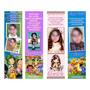 Kit Com 100 Marcadores De Páginas Personalizados Com Foto
