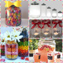 Envases De Vidrio Hermético Multiuso Candy Bar Dispensador