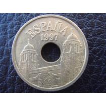 España - Moneda De 25 Pesetas, Año 1997 - Muy Bueno