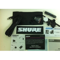 Microfone Shure 98 D/s Percussão E Bateria - Frete Gratis