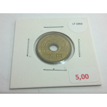 Moeda Japão 5 Yen - Lt1003