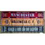 Bufandas Futbol Internacionales Manchester Valencia Portugal