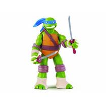 Juguete Figura Tortuga Leonardo Turtles Verde
