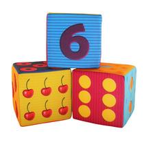 Educando Cubos Apilables Tela Números Juguete Bebes Edu3003