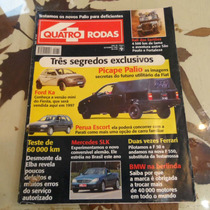 Quatro Rodas # Setembro 1996 Palio Picape Ford Ka Mercedes S
