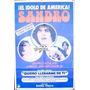 Afiche Quiero Llenarme De Ti Sandro, Marcela López Rey 1969