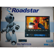 Dvd Retratil Roadstar Rs-7920isdb Tv Digital/usb/touch Tela7