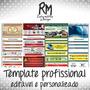 Template Editável Personalizado Profissional Toda Oferta