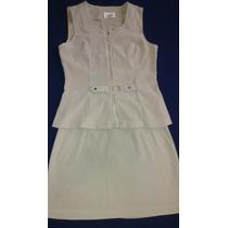 Vestido Traje Ejecutivo Dama Conjunto Falda/chaqueta Talla S