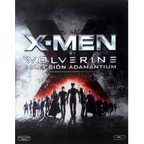 X-men Y Wolverine Coleccion Adamantium Peliculas Blu-ray