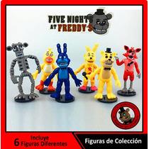 Set 6 Figuras De Colección - Five Nights At Freddy
