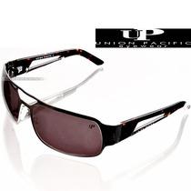 Óculos De Sol Up Union Pacific Aviador Masculino Prata Metal