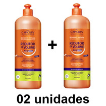 Kit Relaxante Natural Redutor Volume Capicilin 1l- 02 Unid.