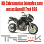 Kit Calcomanias Laterales Para Moto Benelli Trek 899