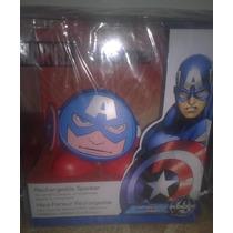 Corneta Ihome Marvel Capitan América, Bob Esponja Y Patricio